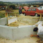 Kapelle Fundament