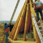 Dachlattung Kapelle