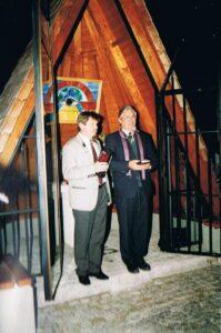Kapelle 1993 Einweihung