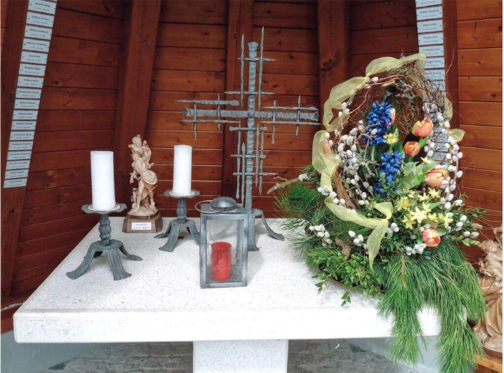 Innenraum Altar